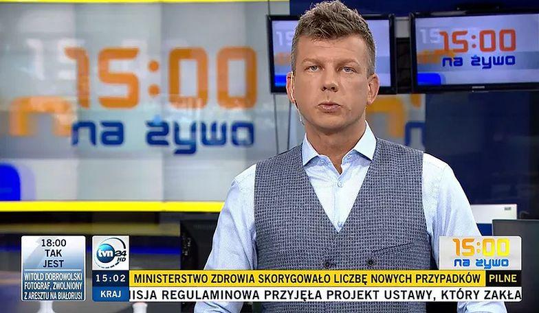 To koniec. Igor Sokołowski odchodzi z TVN24. Jego słowa dają do myślenia