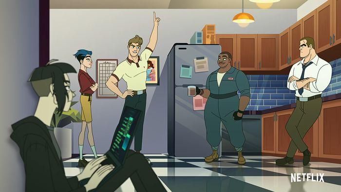 "Recenzja nowego serialu LGBTQ+, ""Q-Force"""
