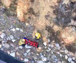 USA. Kobieta spadła z 30 metrowego klifu. Rozproszył ją telefon