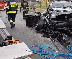Śmiertelny wypadek w Chełmie Śląskim. DW 934 zablokowana