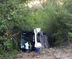 Turcja. Wypadek autokaru, pojazd stoczył się z 20-metrowej skarpy. Wielu Polaków poszkodowanych