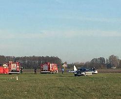 Wypadek na lotnisku pod Warszawą. Są ofiary śmiertelne