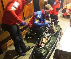 Groźny wypadek w Beskidach. 19-latka wypadła z okna schroniska