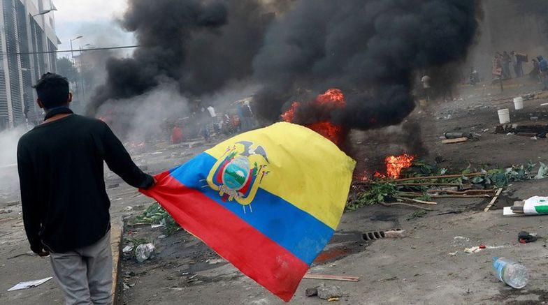 Rząd Ekwadoru zniósł istniejące przez 40 lat dopłaty do paliw.