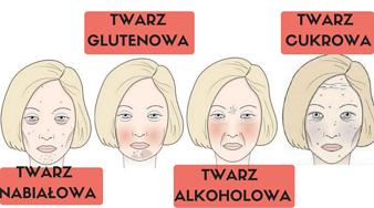 4 typy twarzy, które mówią o twoich błędach żywieniowych