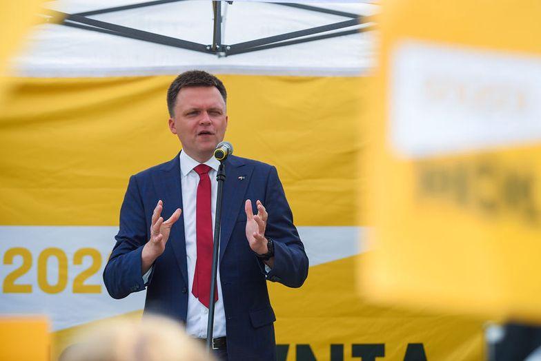 Zaprzysiężenie Andrzeja Dudy. Szymon Hołownia podjął decyzję