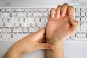 Cieśń nadgarstka - schorzenie, które kilkakrotnie razy częściej dotyka kobiet