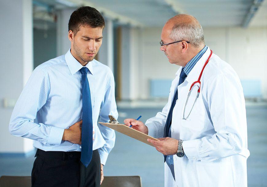 Kontrolne badania pozwolą na wykrycie przyczyn bólu i problemów żołądkowych