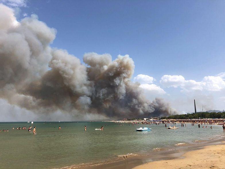 Ludzie uciekają z plaż. Dramat we Włoszech