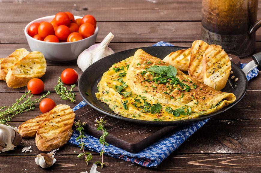 W tym zestawieniu najgorzej wypada omlet