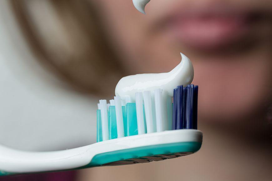 Pasta do zębów z fluorem