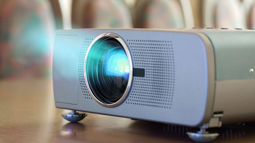 Projektor z depositphotos