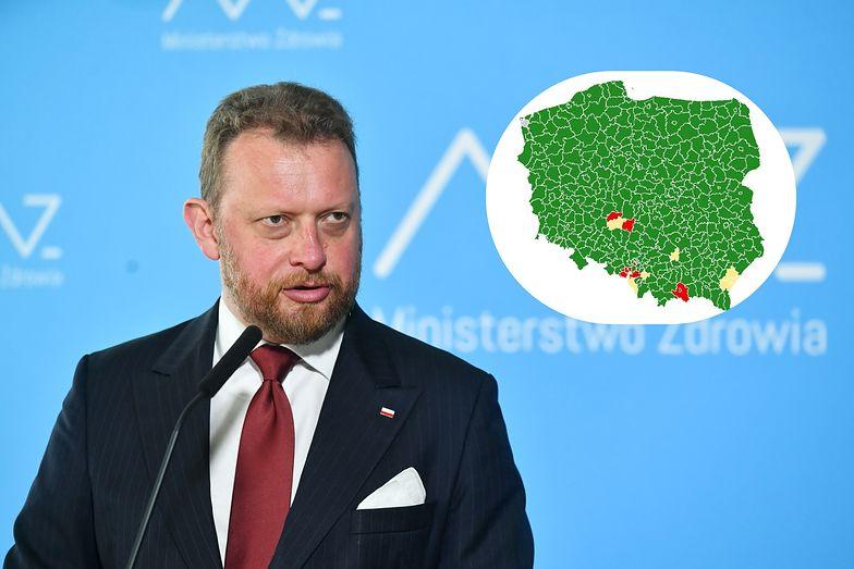 Koronawirus w Polsce. Kraj podzielony na strefy. Znamy szczegółowe wytyczne