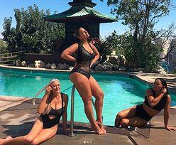 Ashley Graham chwali się ciałem na Instagramie