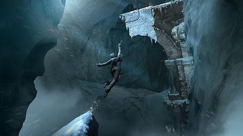 Cztery grafiki koncepcyjne z Rise of the Tomb Raider