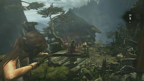 Tomb Raider: po fenomenalnym zwiastunie, fenomenalny fragment rozgrywki