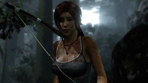 Tomb Raider - pierwsze kroki na wyspie, pierwsze polowanie