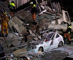 """Już ponad 200 rannych w trzęsieniu ziemi w Tajwanie. """"Pod gruzami wciąż są ludzie"""""""