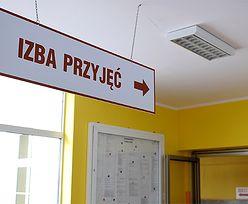 Mężczyzna podpalił się w szpitalu w Łowiczu. Trafił na oddział psychiatryczny