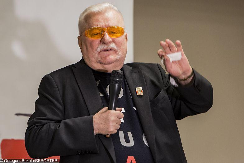 Lech Wałęsa na spotkaniu Klubu Obywatelskiego