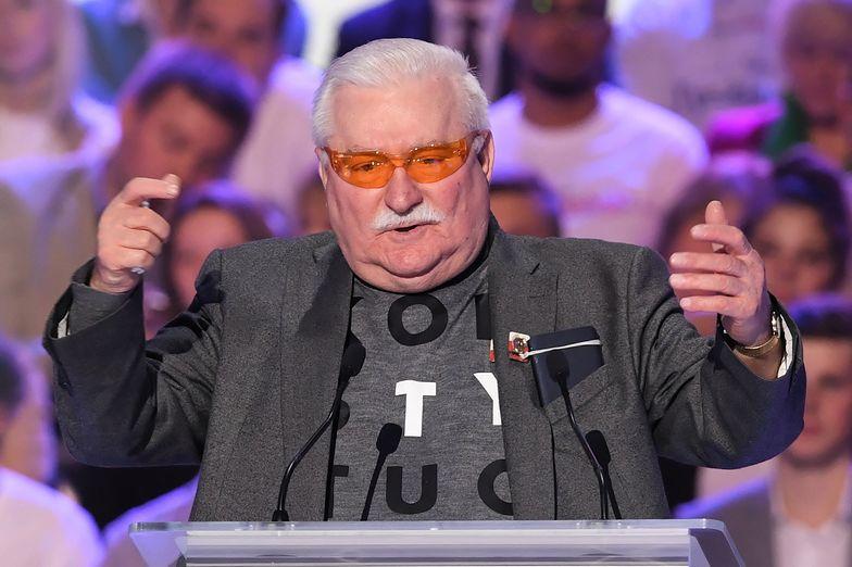 Lech Wałęsa zapewnia, że w wyborach parlamentarnych zagłosuje na swojego syna