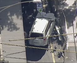 Samochód wjechał w pieszych w Melbourne w Australii. Komunikat policji: to było działanie celowe