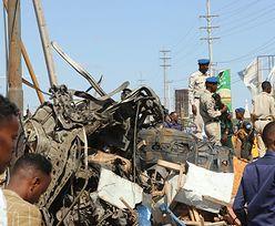 Somalia. Wybuch samochodu pułapki. Setki rannych, dziesiątki zabitych