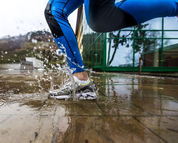 Biegaj w deszczu