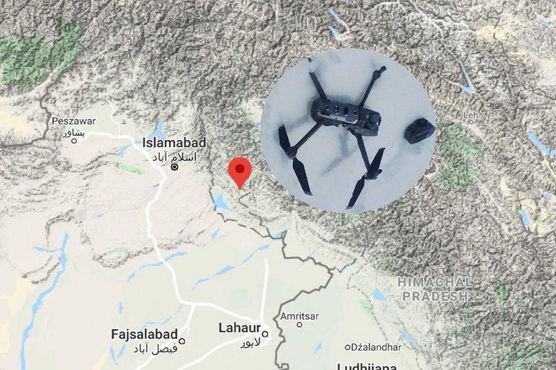 Pakistańska armia zestrzeliła indyjski quadcopter