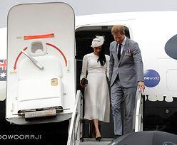 Samolot Harry'ego i Meghan musiał przerwać lądowanie. Na pasie był inny samolot