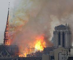 Paryż: pożar w katedrze Notre Dame. Emmanuel Macron jest na miejscu zdarzenia