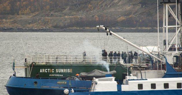 Statek Arctic Sunrise