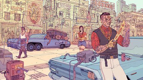 Gustowne artworki z Cyberpunka 2077 - warte swojej ceny?