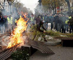 Zamieszki we Francji. Manifestujący starli się z policją