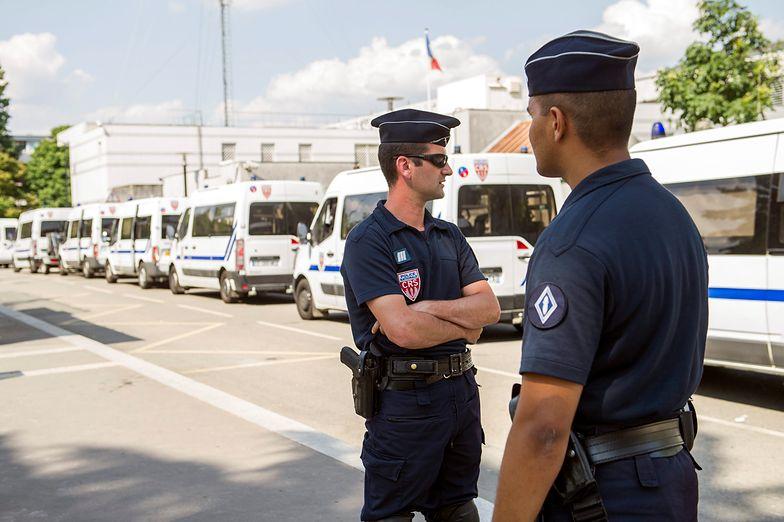Napastnika postrzelili policjanci z Trappes