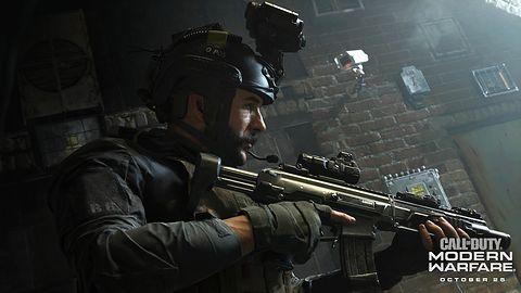 Call of Duty: Modern Warfare z wielkim głodem na przestrzeń dyskową
