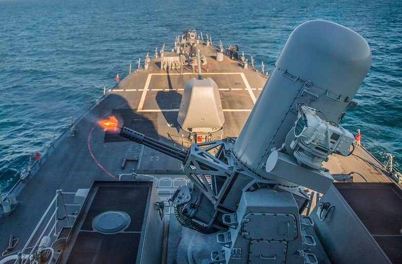 Amerykański niszczyciel wpłynął na Morze Czarne. Rosjanie w nerwach