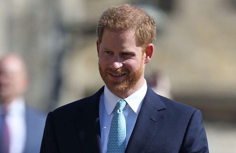 Książe Harry niebawem zostanie tatą