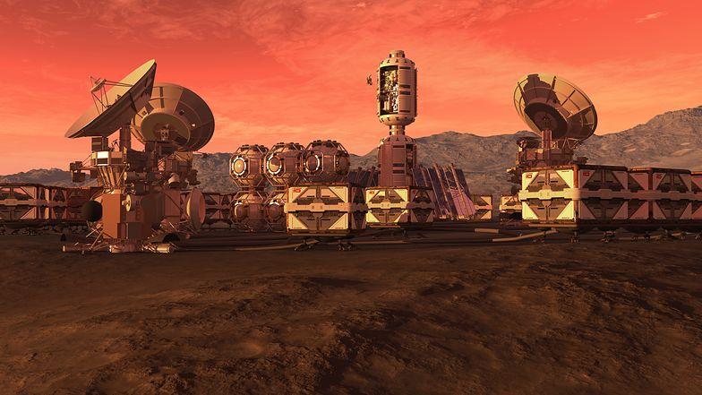 Reaktory jądrowe na Marsie. Tak NASA skolonizuje czerwoną planetę