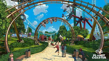 Theme Park? Rollercoaster Tycoon? Blisko. Oto Planet Coaster