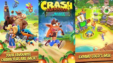 Był Mario na smartfony, będzie też Crash