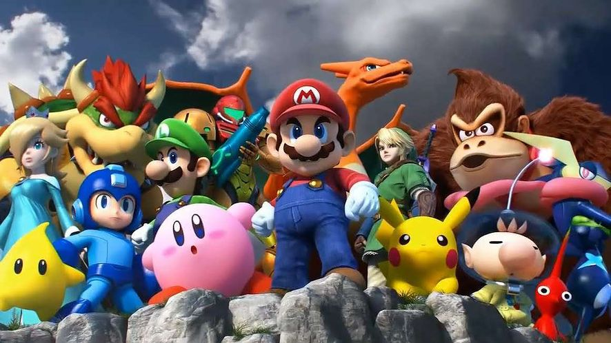 Super Smash Bros. Ultimate w złocie