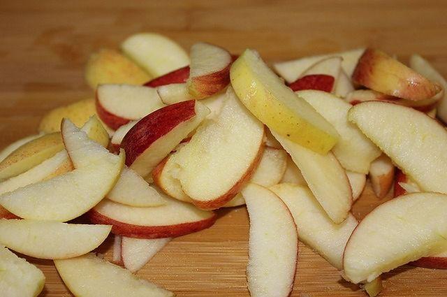 Plastry jabłka