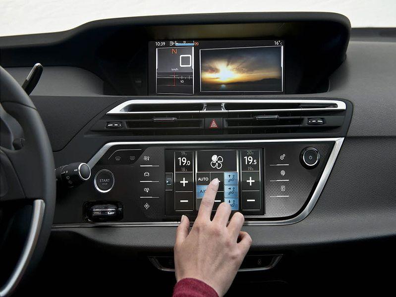 Obsługa klimatyzacji w Citroënie C4 Picasso