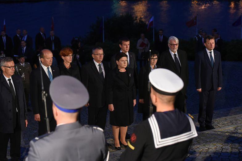 Współorganizatorami uroczystości na Westerplatte od lat są harcerze