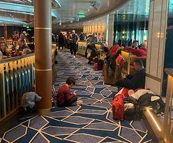 7 tys. osób wciąż uwięzionych na pokładzie statku. Burmistrz nie pozwala ich wypuścić