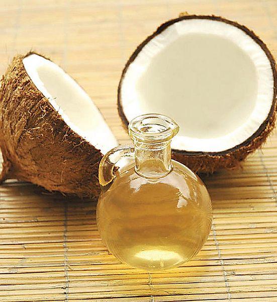 Używaj olejku kokosowego