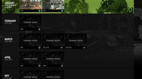 Kalendarium dodatków do Modern Warfare 3