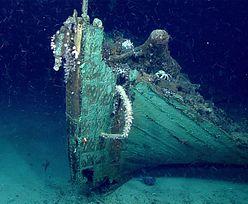 Badacze testowali sprzęt. Na dnie oceanu znaleźli tajemniczy wrak statku