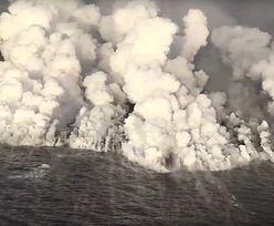 Erupcja wulkanu Kilauea na Hawajach. Ogromne jezioro wyparowało